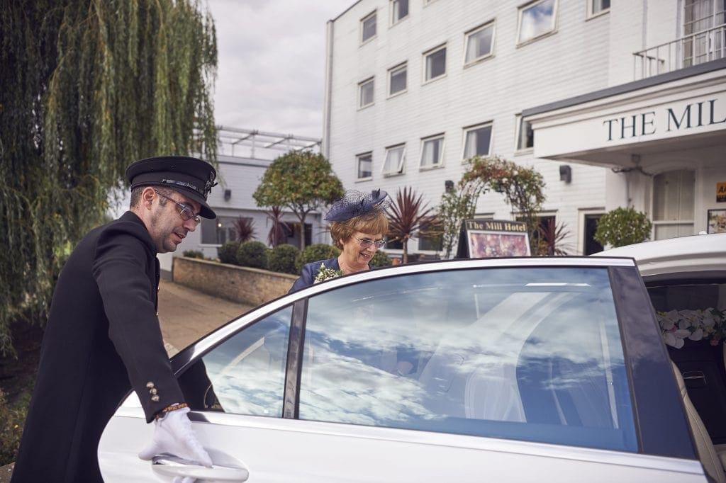 Luxury white glove chauffeur
